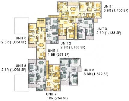 Main Level Residential Floor Plan